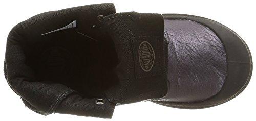 Palladium Bgy Ml Zip K, Chaussures hautes mixte enfant Violet (836/Graphite/Black)