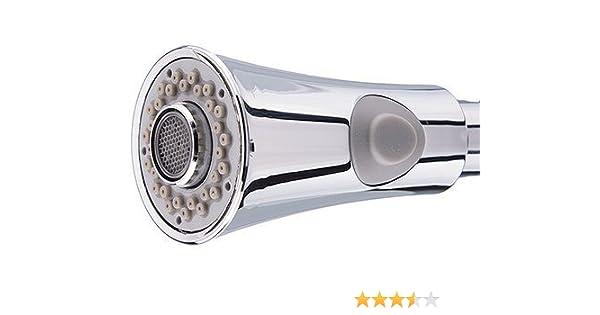 Geschirrbrause Ersatzkopf mit 2 Strahlarten Spülbrause Ersatz-Brausekopf BY DE