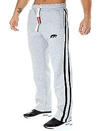 SMILODOX Herren Jogginghose   Trainingshose für Sport Fitness Gym Training    Freizeit   Sporthose - Jogger Pants - Sweatpants Hosen… d411a8fa8f