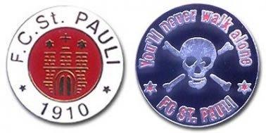 St Pauli Badge Set