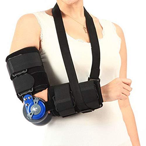 WY-Elbow Ellbogenbandage- Ellenbogen-Stützorthese für das Cubital Tunnel Syndrom - Armellenbogen-Schienen-Wegfahrsperren-Orthese - für den Ulnaren Nerv -