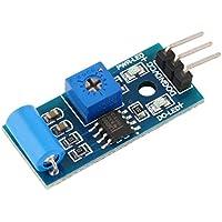 10 PCS Normalement Fermé Capteur de Vibration SW-420 3.3V-5V Capteur de Vibration d'alarme Choc Module de Mouvement Secouer pour Arduino 3.3V-5V