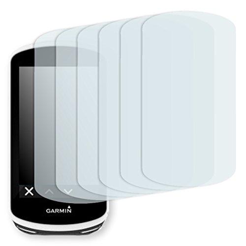 "6 x protectores pantalla Golebo para Garmin Edge 1030. Lámina protectora adhesiva invisible ""Crystal Clear"". Fabricado en Alemania."