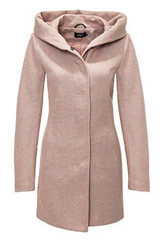 ONLY NOS Damen Mantel Onlsedona Light Coat Otw Noos, Grün (Green Gables Detail:Melange), 38 (M)