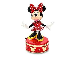 Disney treasured trinkets minnie mouse trinket box for Minnie mouse jewelry box