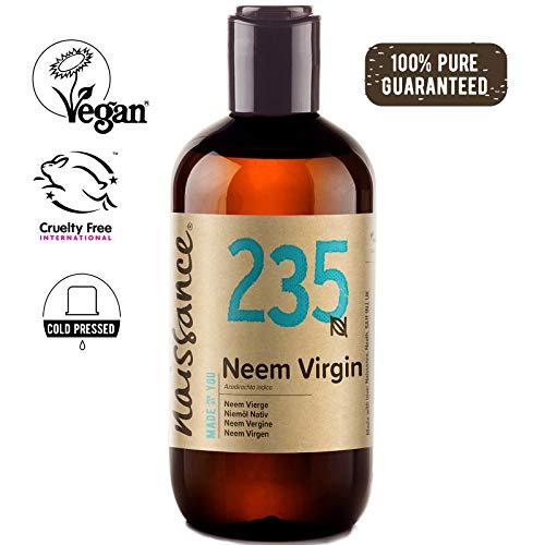 naissance olio di neem vergine - olio vegetale puro al 100% - 250ml