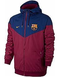 Nike Fcb NSW WR WVN aut Veste ligne FC Barcelona, homme