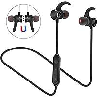 Auriculares Bluetooth 4.1 Sport In Ear,Rusee Auricular Magnético Correr con Micrófono para Deportivo Correr Fitness Workout Auricular Estéreo ,para iPhone iPad Samsung o dispositivo Bluetooth