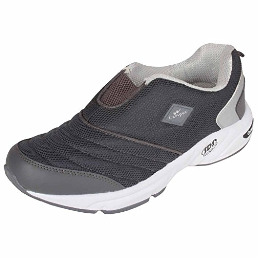 Action Campus Montaya Series dark Grey & Silver Color Casual Shoes For Men ( Size :- 9UK)  available at amazon for Rs.1149