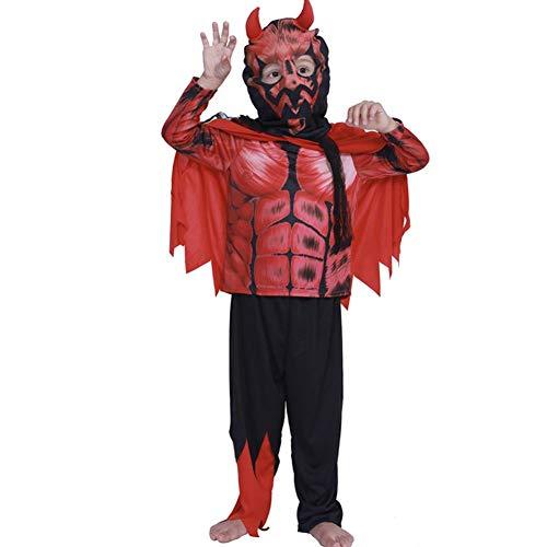 Teufels Kind Kostüm - GUAN Halloween Kostüm Teufel Kinder Show Set