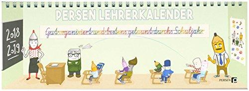PERSEN Lehrerkalender 2018/2019: Lehrerplaner, Schuljahresplaner, Schuljahreskalender, Lehrer-Tischkalender, Lehrer-Wochenkalender (Alle Klassenstufen)