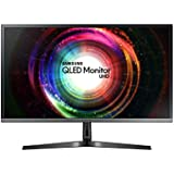 Samsung Monitor U28H750 Monitor 28'' 4K Ultra HD, 3840 x 2160, Quantum Dot, 1.07 Miliardi di Colori, 60 Hz, 1 ms, 2 HDMI, 1 Display Port, Base Semplice, Nero