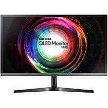 Samsung U28H750 Monitor 28'' 4K Ultra HD, 3840 x 2160, Pannello TN, Quantum Dot, 60 Hz, 1 ms, Nero
