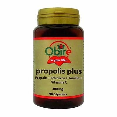 Plus propolis (propolis + thyme + Echinacea + Vitamin C) 90 Capsules from Obire