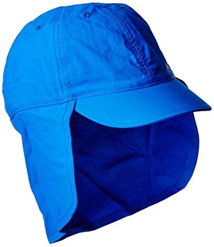 Columbia Kinder Junior Sonnenhut mit Nackenschutz, Größenverstellbar, Einheitsgröße, königsblau (super blue), CY9507