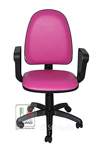Poltrona ufficio fuxia usato vedi tutte i 48 prezzi for Amazon sedie ufficio
