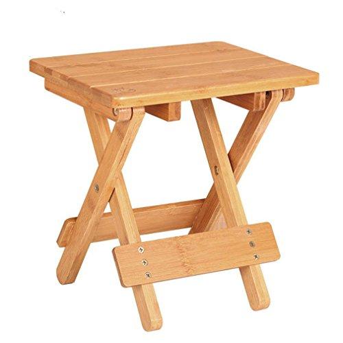 Heruai Extérieur tabouret portable petit tabouret pliant en bois tabouret changer ses chaussures petit tabouret Tabouret Tabouret en bois pour les enfants modernes , b