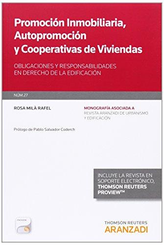 Promocion Inmobiliaria - Autopromocion Y Cooperativas De Viviendas (Monografias (aranzadi))