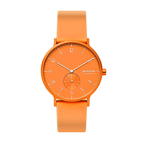 Skagen Unisex Adult Analogue Quartz Watch with Silicone Strap SKW6558 Best Price and Cheapest