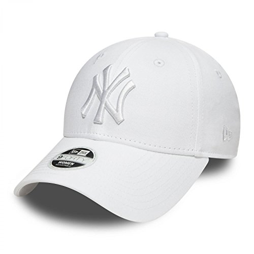 New Era WMNS Leag 9Forty Damen Adjustable Cap NY Yankees Weiß Weiß, Size:ONE Size -
