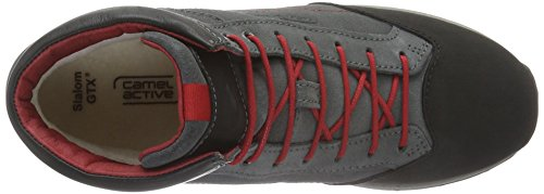 camel active Slalom Gtx 71, Stivaletti Donna Grigio (shark/black (red) 12)