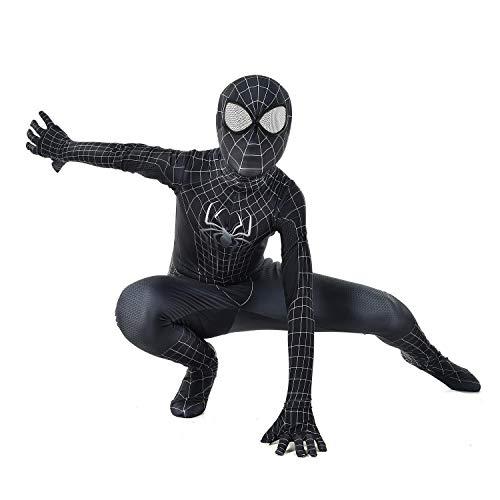 Cosplay Kleidung 3D Digitaldruck Anime Kostüm Schwarz Spiderman Cosplay Einteilige Enge Kleidung Kinder Erwachsene Halloween Kostüm