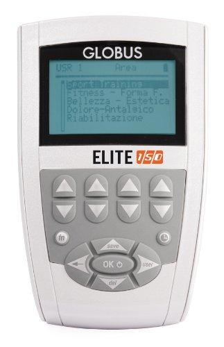 Globus Elite 150 - Electroestimulador, Color Gris