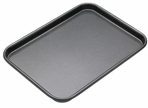 KitchenCraft MasterClass Non-Stick Baking Tray, Grey, 24 x 18 cm