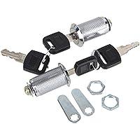 Yibuy - Cerradura de Leva para Caja de Cartas, Armario, Armario, Cajón de Camión, 2 Unidades, 30 mm