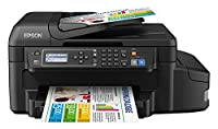 Epson EcoTank ET-4550 Multifunction Printer with Refillable Ink Tank - Black,C11CE71404BY