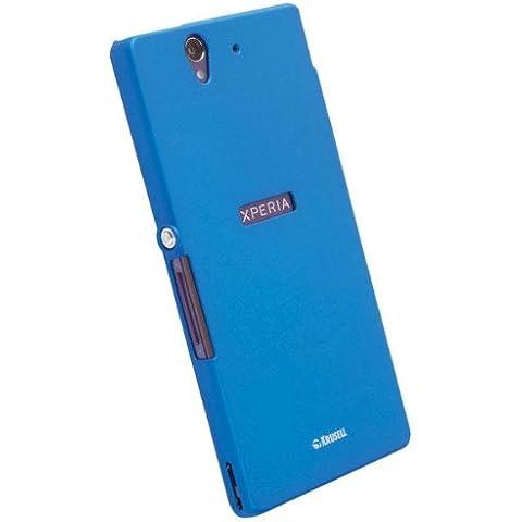 Krusell ColorCover Sony Xperia Z - fundas para teléfonos móviles Azul