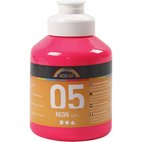 A-Color Fluo, rose néon, 05 - fluo, 500ml