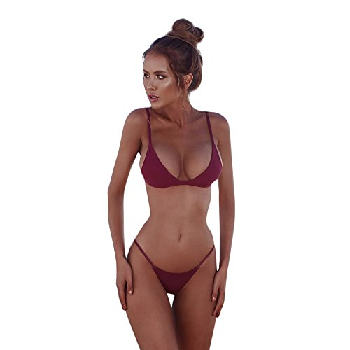 2f32ec4c6082 Bikinis Tanga Mujer Lanskirt Traje De BañO Mujer Ropa Interior De ...