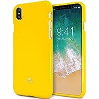 custodia silicone iphone x giallo fluo
