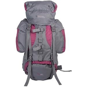 mountain warehouse tor large 65 litre rucksack for walking hiking camping festival bag