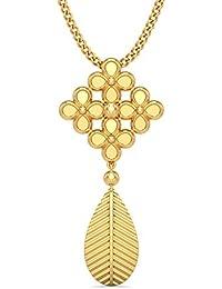 BlueStone 18k (750) Yellow Gold Pendant