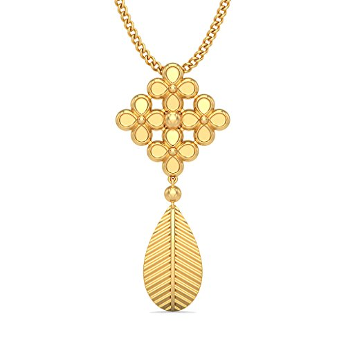 BlueStone 18k (750) Yellow Gold Pendant