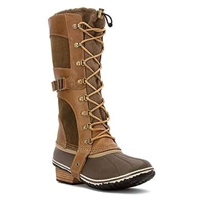 Sorel Conquest Carly Women US 10 Brown Knee High Boot UK 8 EU 41