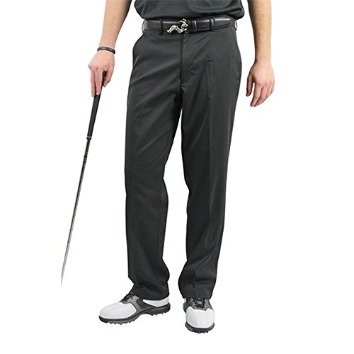 Woodworm DryFit Flat Front Golf Trousers Black 3231