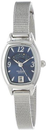 peugeot-womens-slim-silver-mesh-decorative-sun-moon-phase-blue-face-vintage-dress-watch-712bl