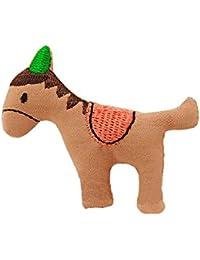Lot de 2 enfants belle broche Mignon Clips Little Horse Pull Hat Pin Rose