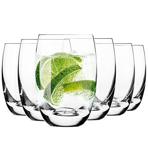Krosno Wassergläser Saftgläser Trinkgläser | Set von