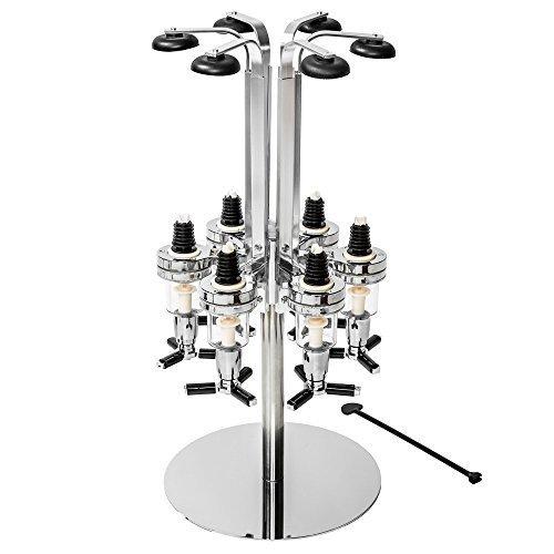 TecTake Getränkeportionierer Bar Butler - diverse Modelle - (6-fach | Rund | Nr. 401626)
