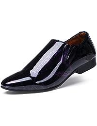 Amazon.it  scarpe eleganti uomo - Viola   Scarpe stringate basse ... f5bb1e067cd