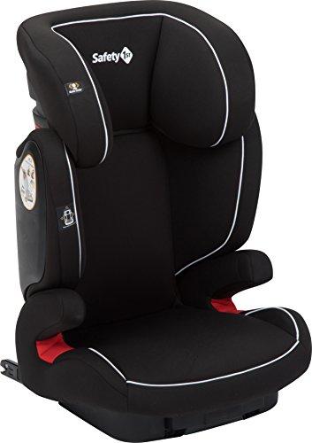 Safety 1st Road Fix, Kindersitz Gruppe 2/3 (15-36 kg), praktischer Autositz mit Isofix, nutzbar ab 3 bis 12 Jahre, full black (schwarz)