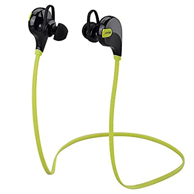 Bluetooth Sports Headphones, Mpow Swift Bluetooth 4.0 Wireless Sports Earphones Headset with Mic and AptX for iPhone 6s 6s Plus 6 6 Plus 5 5c 5s 4s and Other Android Cell Phones