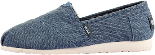 Unisex Fashion Paperplanes 1196–Casual, facile à enfiler-Ons Chaussons Bleu - 1197-Navy