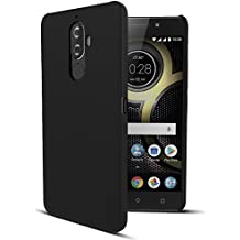 Amazon Brand - Solimo Lenovo K8 Note Mobile Cover (Hard Back & Slim), Black