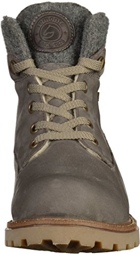 Remonte D7474, Damen Combat Boots Grau