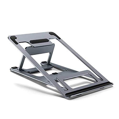 Laptop Ständer Höhenverstellbar aluminumAlulegierung Cooling Tablet Ständer Verbesserte Laptop Stand Halter Kompatibel mit 9 Zoll bis 15 Zoll Notebook - Laptop Cooling-plattform